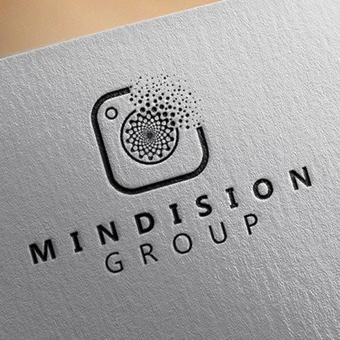 طراحی لوگو گروه فیلمسازی مایندیژن