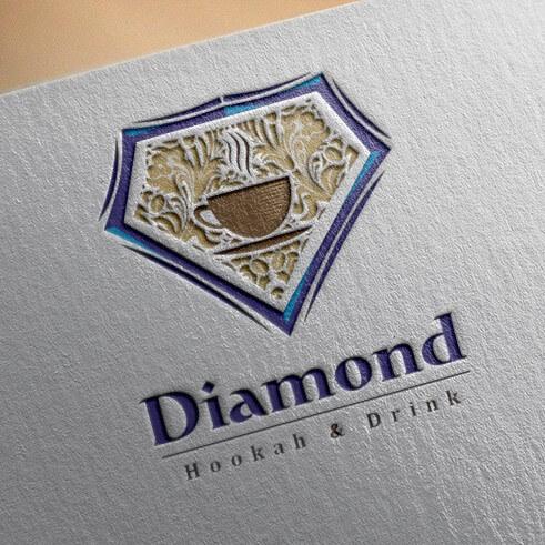 طراحی لوگو کافه دایموند| طراحی حرفه ای لوگو | ساخت لوگو | طراحی لوگو حرفه ای
