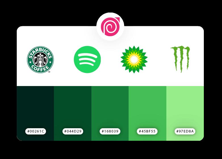 رنگ زیبا برای طراحی لوگو