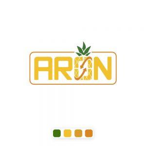 طراحی لوگو تجاری آرون