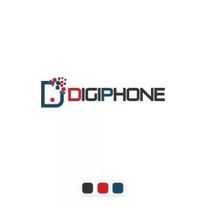 لوگو فروشگاه لوازم دیجیتال و موبایل دیجی فون