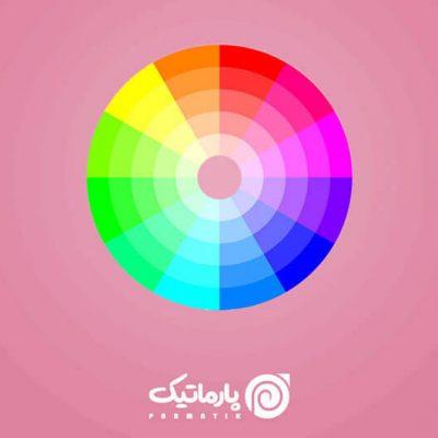 تاثیر رنگ ها در طراحی آرم