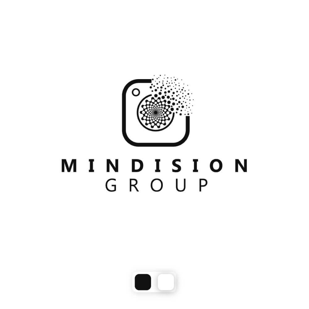 نمونه کار طراحی لوگو گروه مایندیژن