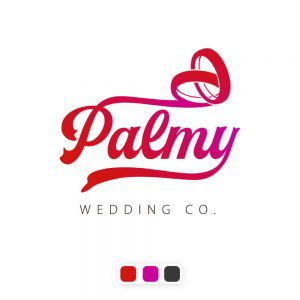 نمونه کار طراحی لوگو استارتاپ ازدواج پالمی