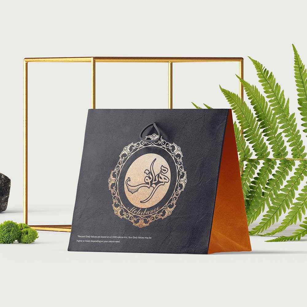 موکاپ کیف محصولات مهربانو