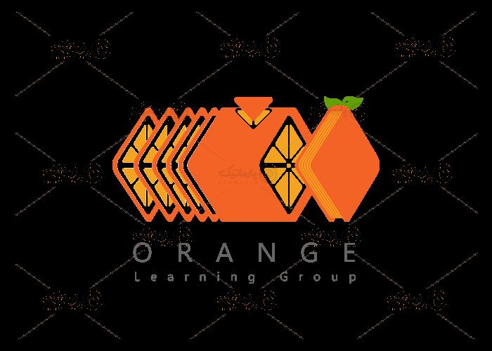 سفارش طراحی لوگو تصویری گروه آموزشی پرتقال