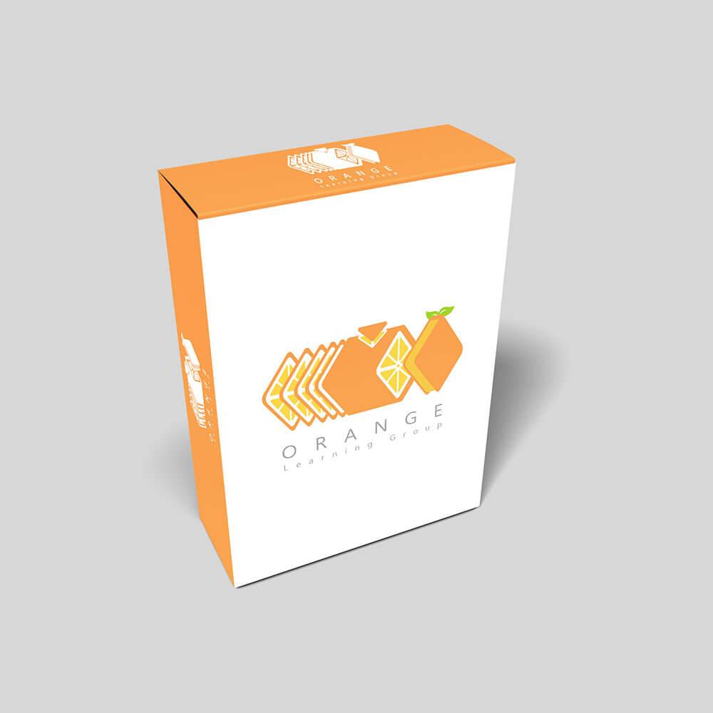 موکاپ پک آموزشی گروه پرتقال