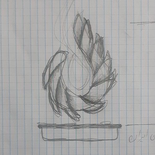 اتود 3 طراحی لوگوی شرکت پایانه های پتروشیمی ایران