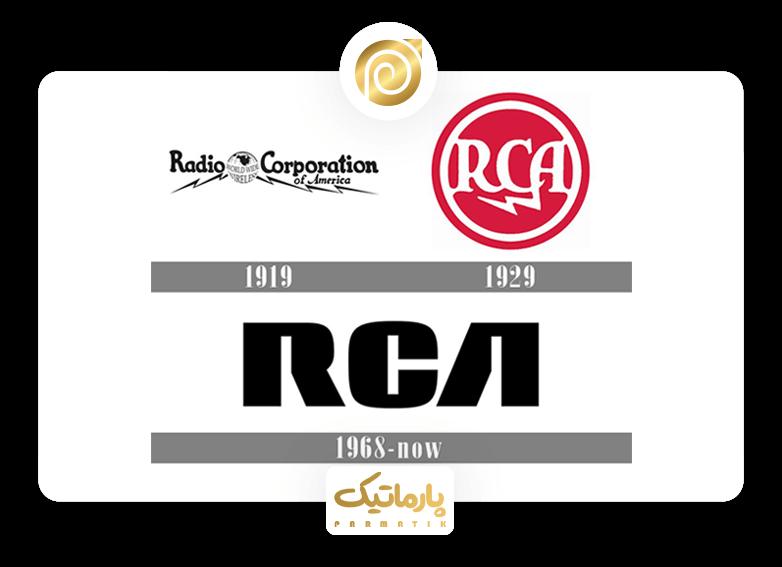 آرم شرکت RCA