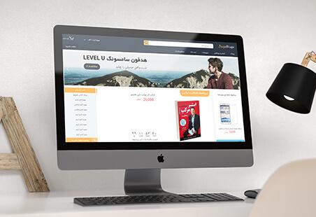 نمونه کار طراحی سایت فروشگاهی جینگوبینگو