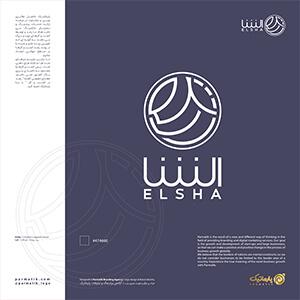 طراحی لوگو الشا